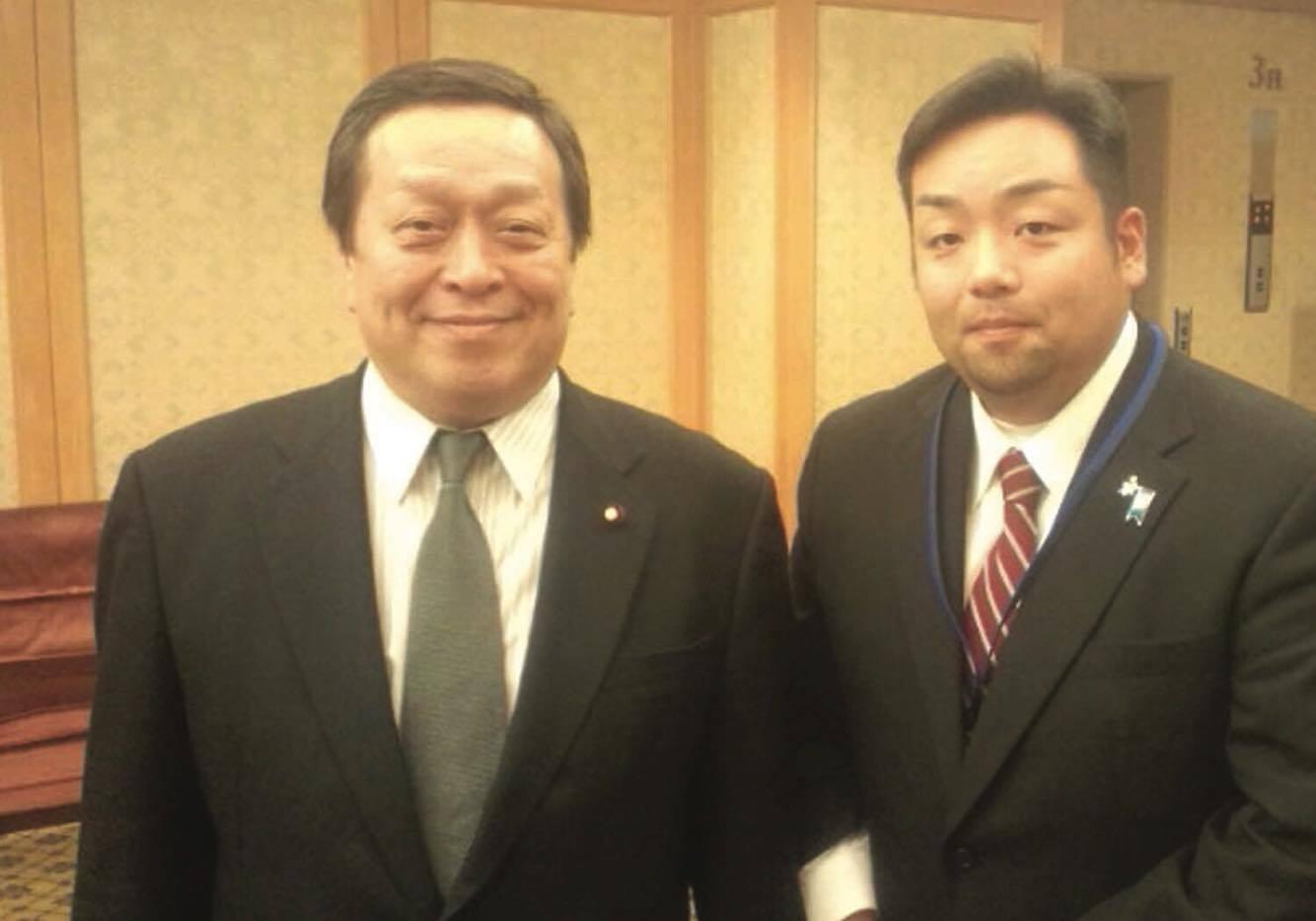 浜田靖一 先生(元防衛大臣)